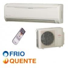 Ar Condicionado 24.000 BTU/h Fujitsu Inverter Hi Wall Quente/Frio 220V