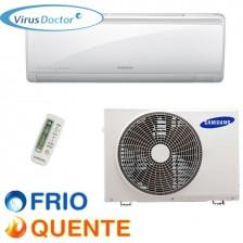 Ar Condicionado 09.000 BTU/h Samsung Smart Inverter Split Hi Wall Frio 220V